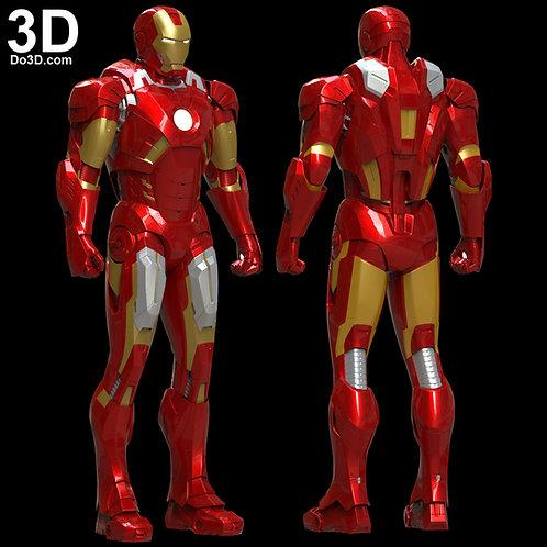 Iron Man Mark VII Armor MK 7 Premium | 3D Model Project #5690