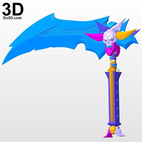 Scythe Darksiders II 2   3D Printable Model Project #3004