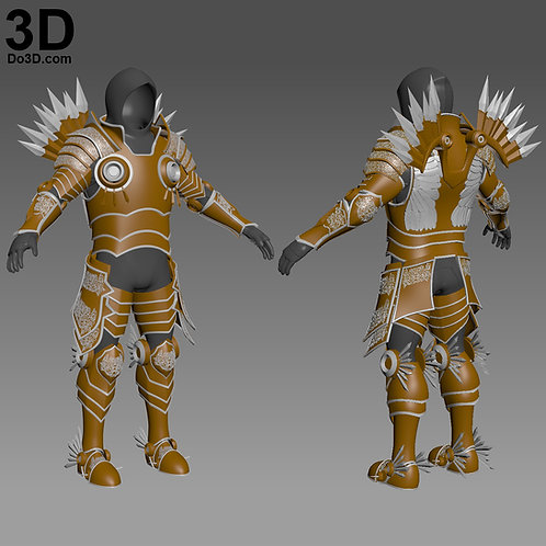 Tyrael Armor Suit Diablo | 3D Printable Model Project #1240