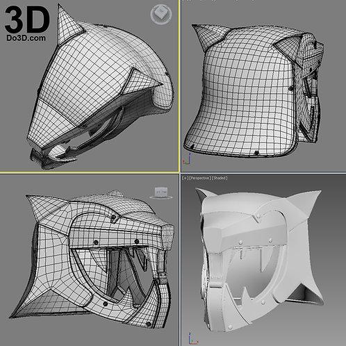 Days of Iron Crown Destiny Helmet | 3D Model Project #1910
