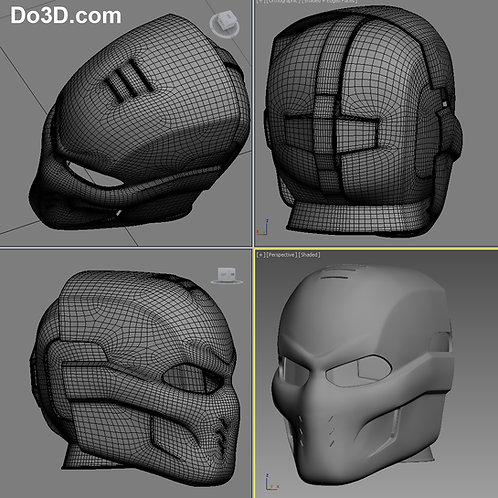 Crossbones Helmet from Captain America Civil War  | 3D Model Project #408