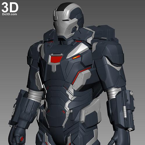 War Machine 004 Armor Mark IV MK 4 | 3D Model Project #4664