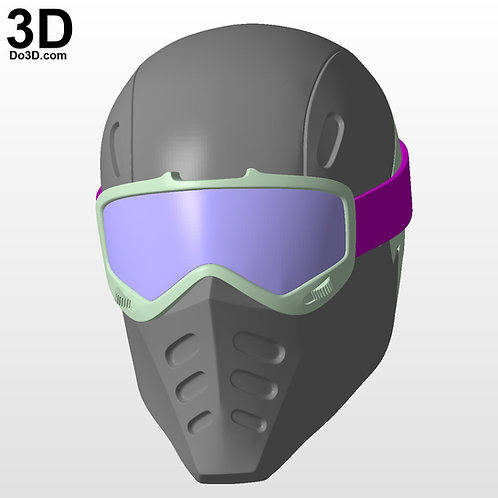 Snake Eyes G.I. Joe Type 2 Helmet | 3D Model Project #4723