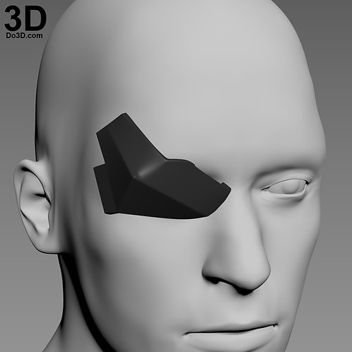 Death Stroke Justice League Eye Patch Cover | 3D Model Project #4404