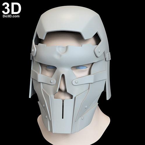 AP'LEK Knights of Ren Helmet Star Wars Rise of Skywalker 3D Model Project #N016