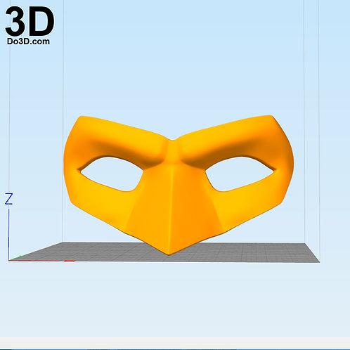Custom Green Lantern Cosplay Eye Mask | 3D Printable Model #3716