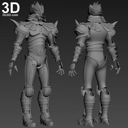 Karas anime Helmet + Armor | 3D Model Project #6105