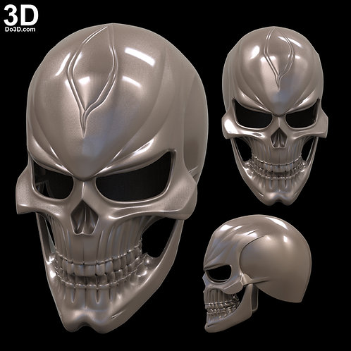 Ghost Rider Agents of SHIELD helmet | 3D Model Project #1754