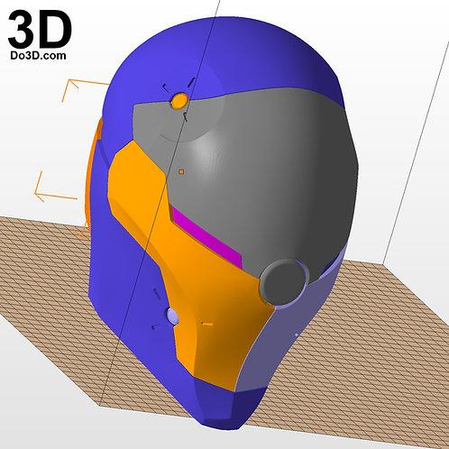 Gray Fox Metal Gear Cyborg Ninjas Helmet  | 3D Printable Model #1033