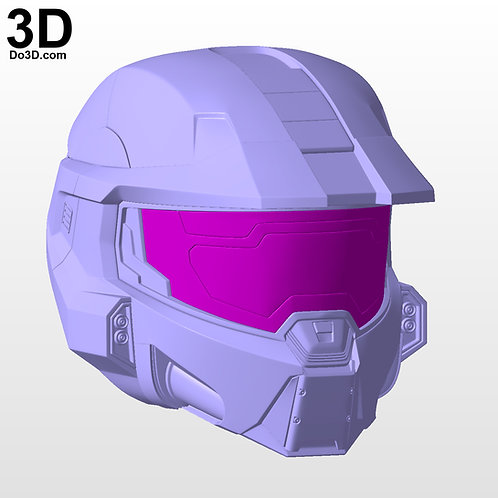 Halo Infinite Master Chief Helmet | 3D Model Project #N09