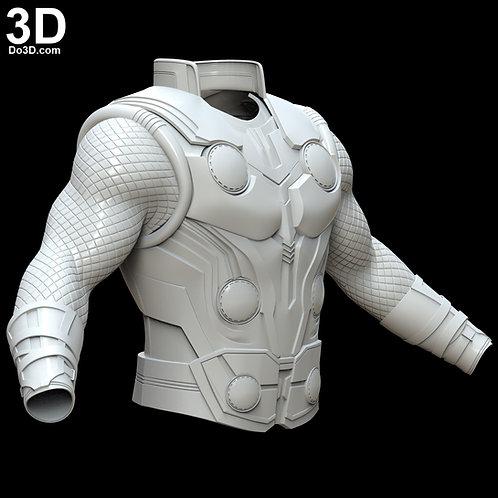 Thor Vest Armor, Arm, Gauntlet Infinity War | 3D Model Project #4430