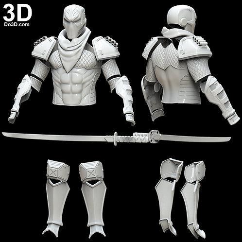 DeathStroke Prime 1 Mecha Armor + Sword | 3D Model Project #5087