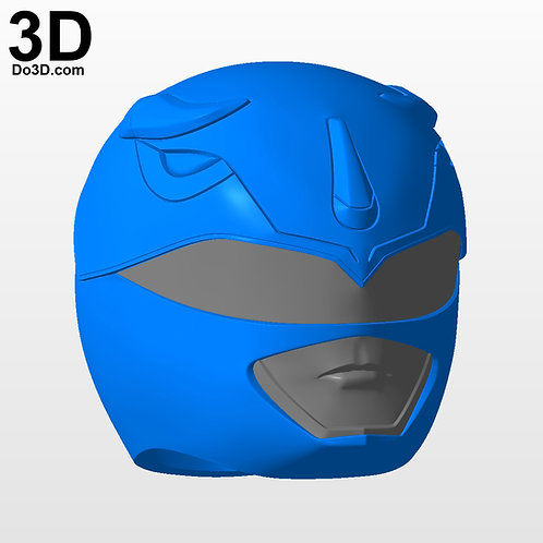 Blue Ranger Classic Helmet Mighty Morphin Power Rangers MMPR, 3D Project #2919