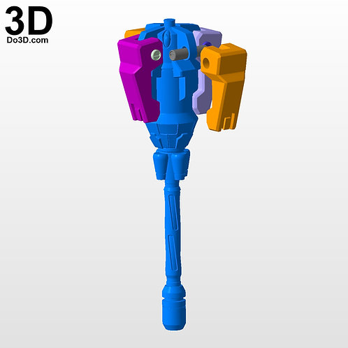 Overwatch Brigitte's Rocket Flail | 3D Model Project #4352