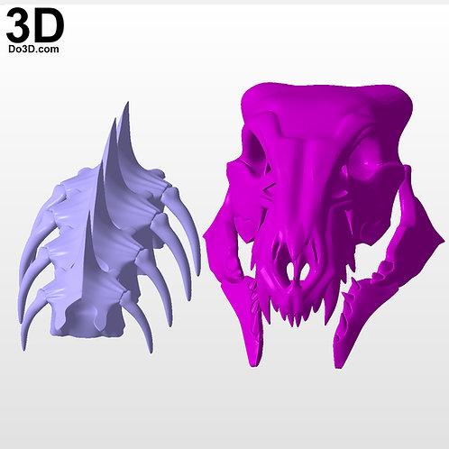Destiny 2 Young Ahamkara's Spine Arm Exotic Hunter Gauntlets 3D Project #4326