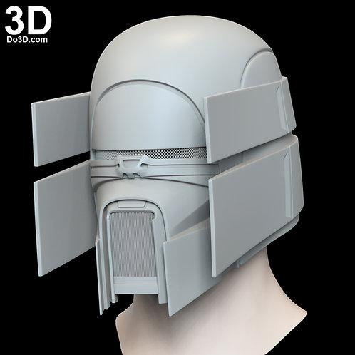 Kuruk Knights of Ren Helmet Star Wars Rise of Skywalker 3D Model Project #N14