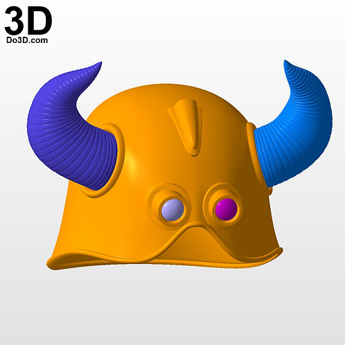 Dragonball OX King Helmet   3D Model Project #5548