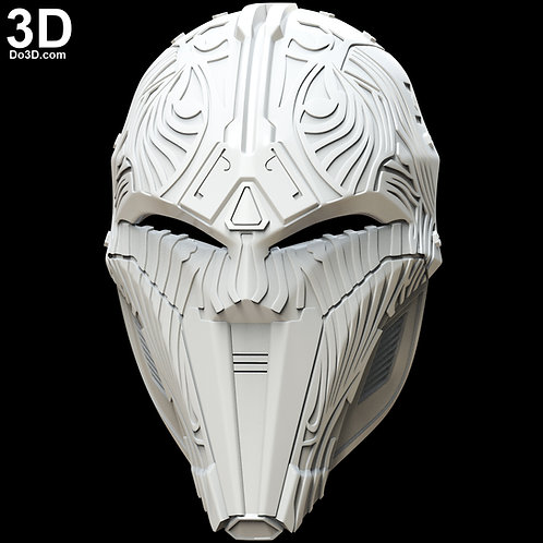 Sith Acolyte Star Wars Helmet Mask | 3D Model Project #4695