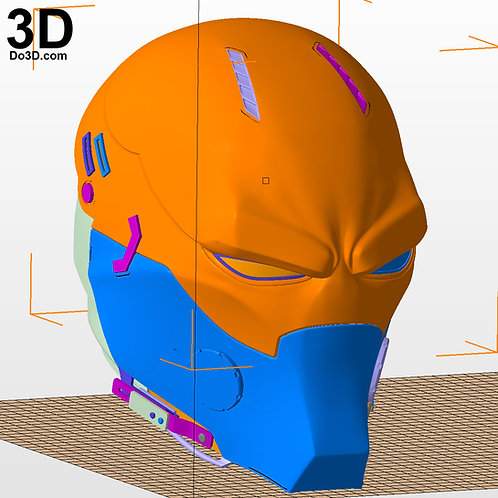 Red Hood Beyond Variant Helmet Concept | 3D Printable Model #2141