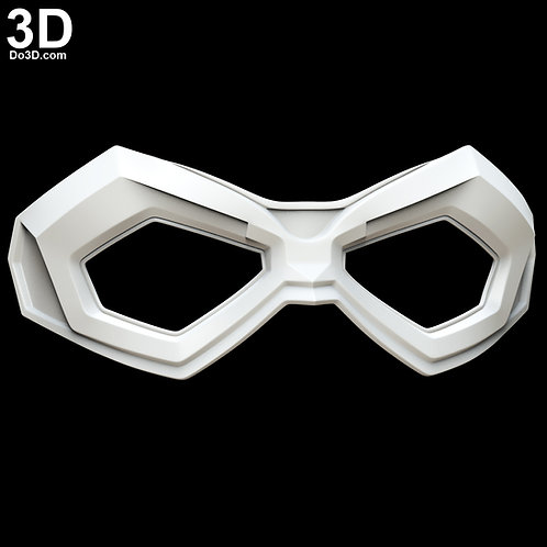 Dystopian Arrow Mask Connor Hawke Green Arrow | 3D Printable Model #4926