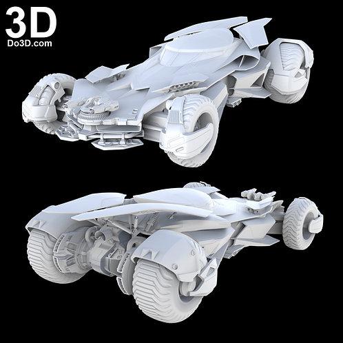 Batmobile Bat Car Batman v Superman BVS DOJ  | 3D Printable Model Project #1857