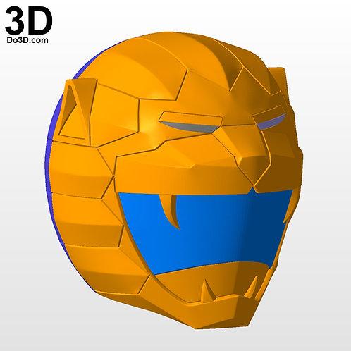 Choujuu Sentai Liveman Bioman Yellow Lion Helmet | 3D Model Project #5691
