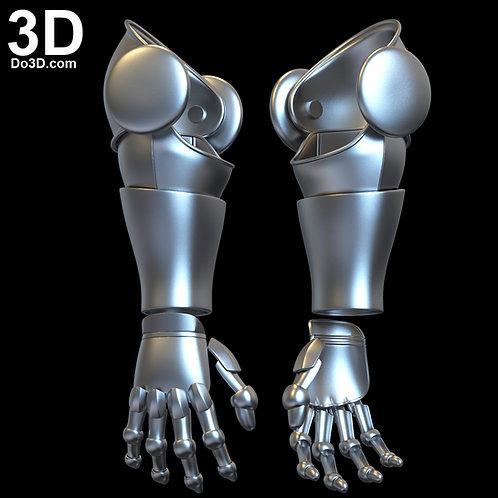 Doctor Doom Gauntlet | 3D Model Project #6091