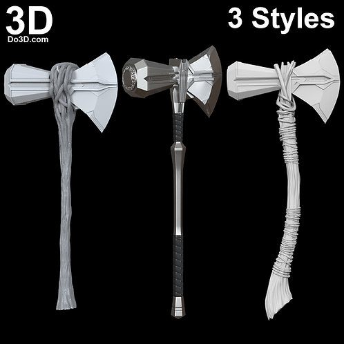 Stormbreaker Discount Bundle (3 Styles) | 3D Printable Model Project File #N26