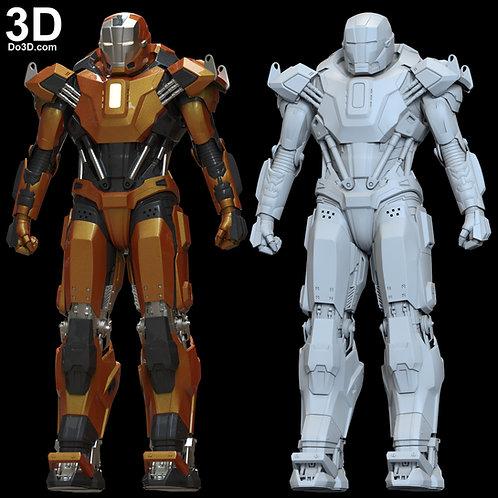 Iron Man Mark XXXVI MK 36 Armor Peacemaker | 3D Printable Model #6388