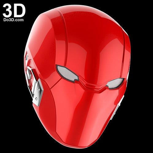 Red Hood Injustice 2 Helmet Cowl | 3D Model Project #2712