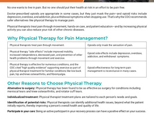 National Physical Therapy Month: A Safe Alternative to Opioids for Pain Management