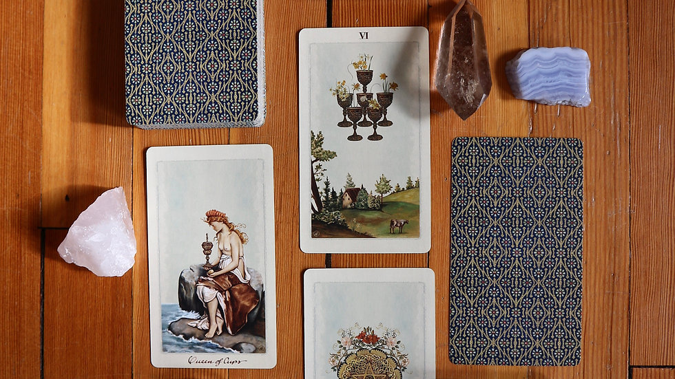 One Hour Tarot Reading- Gift Certificate