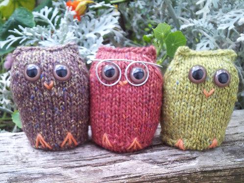 Three Owls Knitting Pattern