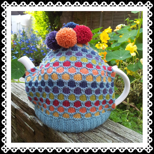 Bubbles Tea Cosy Knitting Pattern
