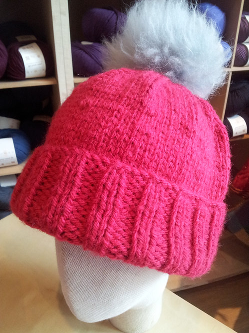 Bobble Hat 2 Ways