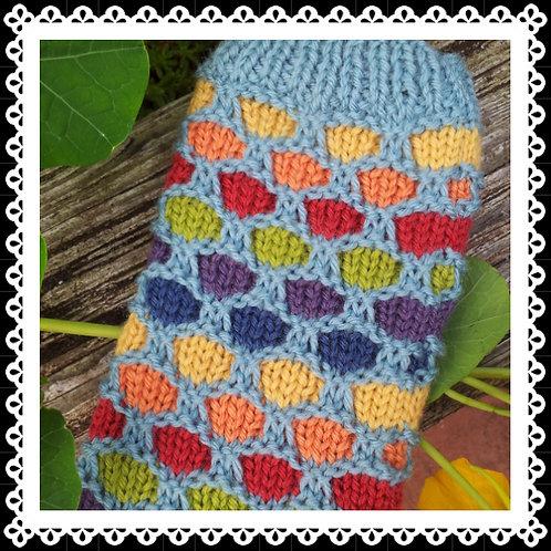 Bubbles Phone Cosy Knitting Pattern
