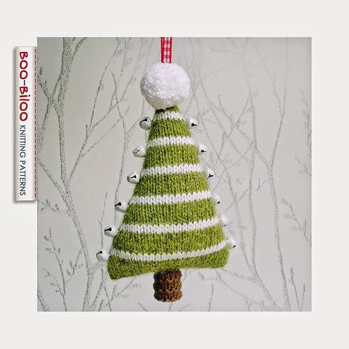 Boo Biloo Jingle Bells Christmas Tree Knittng Kit