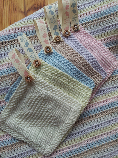 Baby Washcloths Knitting Pattern