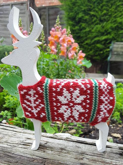 Rodney the Reindeer Knitting Kit