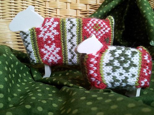 Christmas Sheep Knitting Kit