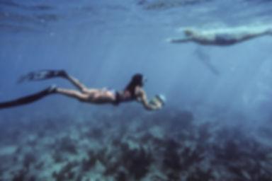 Underwater ocean photoshoot in Miami, Florida