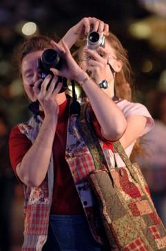 Mother-daughter duo in Las Vegas