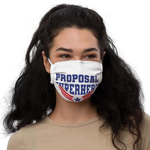 Proposal Superhero Premium face mask