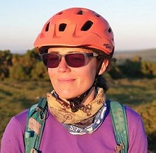 Sara B GMTBIKING mountain bike guide