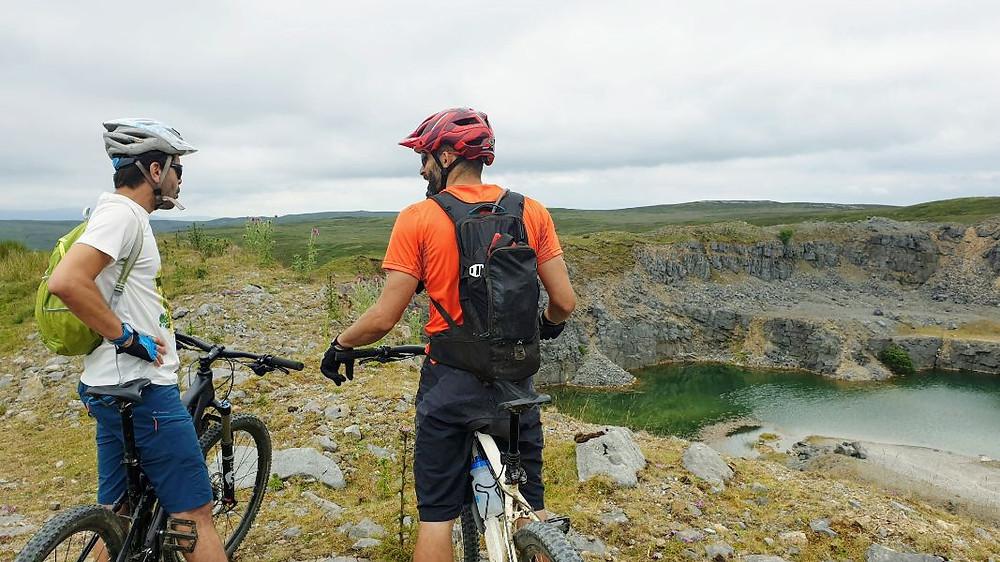 GMTBIKING photo of mountain biking in the Brecon Beacons