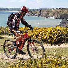 Moutain biking Gower - Wales