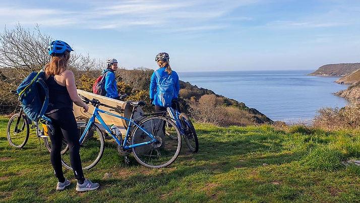 Mountain bike guided tours Wales