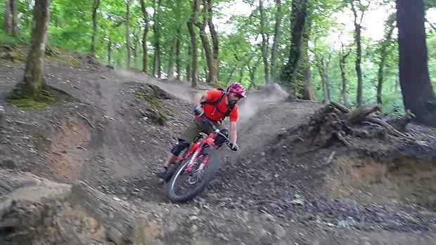 Mountain Bike Coaching in the Clyne Woods