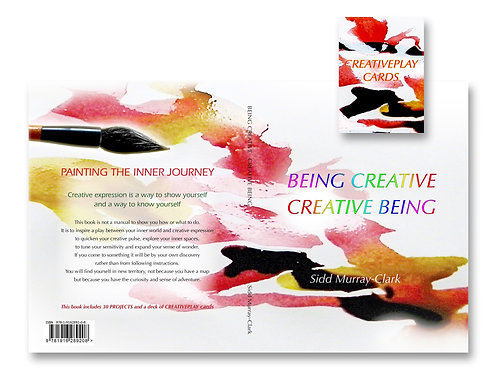 BEING CREATIVE  CREATIVE BEING  Book and CreativePlay Cards