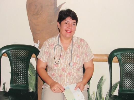 Buen Samaritano's Medical Director, Dra. Silvia Venegas, since 2006. Her dedication is unsurpassed!